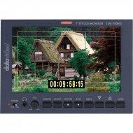 "Datavideo TLM-700HD-P 7"" HD/SD TFT LCD Monitor with Panasonic CGA Series Battery Mount"