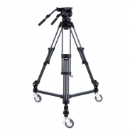 Libec LX10 Studio - Video Tripod Kit Aluminium with Dolly