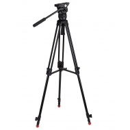 CAMGEAR Mark 6 MS - Video Tripod Kit Aluminium with Mid Spreader