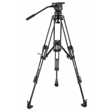 CAMGEAR V10 CF MLS100 Fluid Head and Tripod Kit (100mm)