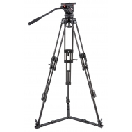 CAMGEAR V10 CF GS100 Fluid Head and Carbon Tripod Kit (100mm)