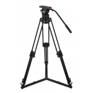 CAMGEAR V10 AL GS100 Fluid Head and Aluminum Tripod Kit (100mm)