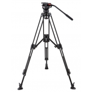 CAMGEAR DV 6P ALMLS75 - Video Tripod Kit Aluminium with Mid Spreader