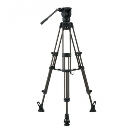 Libec LX7M - Video Tripod Kit Aluminium with Mid Spreader