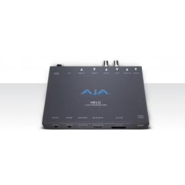 AJA HELO - H.264 HD/SD RECORDER AND STREAMING, 3G-SDI/HDMI, INPUT/OUTPUT, SD,USB OR NETWORK RECORDING