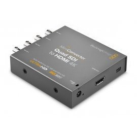 BLACKMAGIC DESIGN MINI CONVERTER - QUAD SDI TO HDMI 4K 2