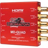 DECIMATOR DESIGN - MD-QUAD MINIATURE (3G/HD/SD)-SDI MultiViewer