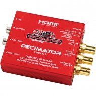 DECIMATOR DESIGN DECIMATOR 2 - HDSDI to HDMI and PAL/NTSC converter