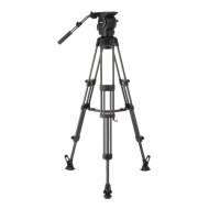 Libec RSP-750MC - Video Tripod Kit Carbon with Mid Spreader