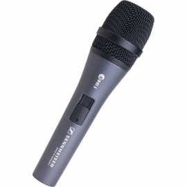 Sennheiser e 845-S Super-cardioid high output vocal microphone with noiseless on/off switch