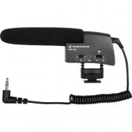 SENNHEISER SMALL SHOTGUN MICROPHONE FOR VIDEO CAMCORDER