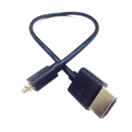 "PARALINX 12""Ultra-Thin Micro-HDMI Cable (30cm)"
