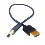 "PARALINX 18""Ultra-Thin HDMI-HDMI Cable (45cm)"