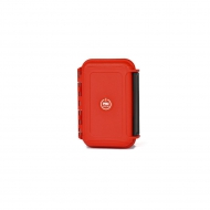 HPRC 1300MR - Hard Watertight Memory Card Case Red