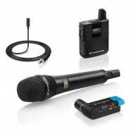 SENNHEISER AVX COMBO SET - Lavalier + handmicrofoon + pocket receiver