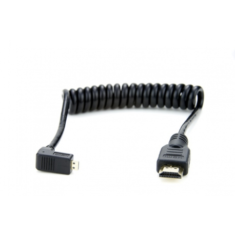 ATOMOS ATOMCAB007 - Right-Angle Micro to Full HDMI Cable (30cm)