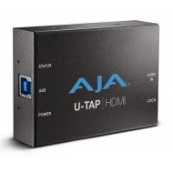 AJA HD/SD USB3.0 CAPTURE FOR MAC/WINDOWS/LINUX HDMI, BUS POWERED, NO DRIVER