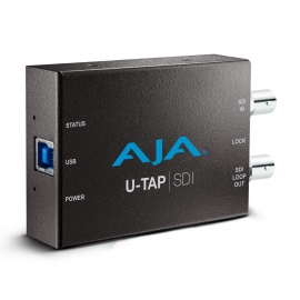 AJA HD/SD USB3.0 CAPTURE FOR MAC/WINDOWS/LINUX 3G-SDI, BUS POWERED, NO DRIVER