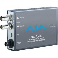 AJA 3G/HD/SD 4 CHANNEL ANALOG AUDIO EMBEDDER/DISEMBEDDER