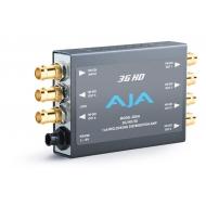 AJA 3G/HD/SD RECLOCKING DISTRIBUTION AMPLIFIER, 1X6