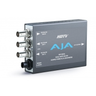 AJA HD/SD-SDI WITH EMBEDDED AUDIO TO ANALOG AUDIO/VIDEO CONVERTOR