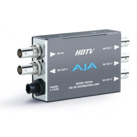 AJA HD/SD-SDI DISTRIBUTION AMPLIFIER, 1X4, EQ