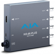 AJA 4K/UHD SDI TO 4K/UHD HDMI 2.0 WITH 50/60P SUPPORT, ALSO HD-SDI