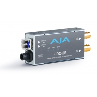 AJA DUAL CHANNEL OPTICAL FIBER TO SD/HD/3G SDI WITH DUAL OUTPUTS