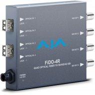 AJA 4-CHANNEL LC OPTICAL FIBER TO 3G-SDI