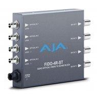 AJA 4-CHANNEL ST OPTICAL FIBER TO 3G-SDI