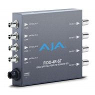 AJA 4-CHANNEL ST OPTICAL FIBER TO 3G-SDI