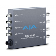 AJA 4-CHANNEL 3G-SDI TO ST OPTICAL FIBER