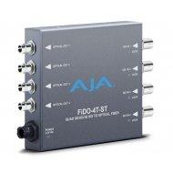 AJA 4-CHANNEL 3G-SDI TO ST OPTICAL FIBER