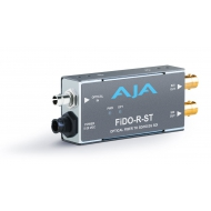 AJA SINGLE CHANNEL OPTICAL FIBER (ST-CONNECTOR) TO SD/HD/3G SDI WITH DUAL OUTPUTS