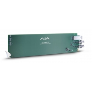 AJA OPENGEAR 2-CHANNEL SDI TO FIBER CONVERTOR, 2 SLOTS REQUIRED