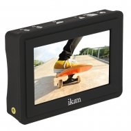 IKAN 3.5 INCH 4K SIGNAL SUPPORT ON-CAMERA FIELD MONITOR
