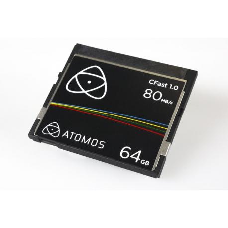 ATOMOS CFAST card 64GB
