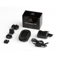 Atomos Single Battery Charger (1000mA) including AC adapter and worldwide plug kit