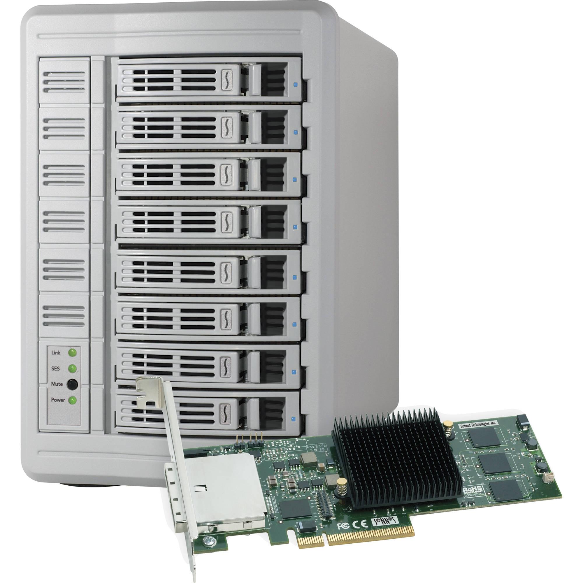 SONNET Fusion DX800 RAID (Desktop unit) inc PCIe RAID Controller