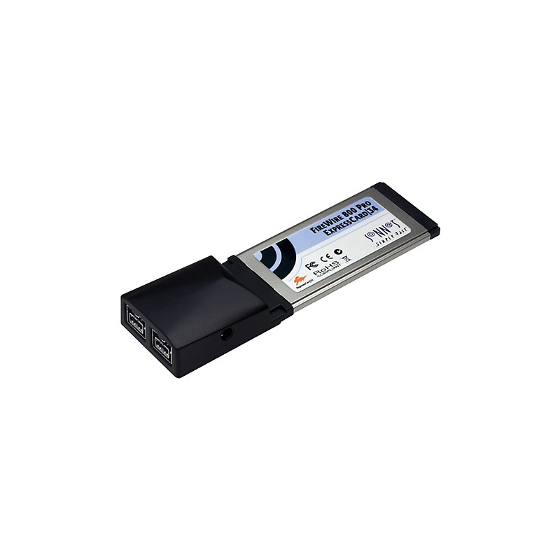 SONNET FireWire 800 ExpressCard/34 (2 ports) (OS X requires 10.5 ...