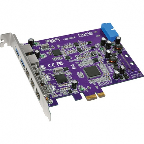 SONNET Tango FireWire 800/USB PCIe Card (3 FireWire 800 + 2 Ext ...