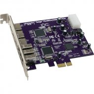 SONNET Tango FireWire/USB PCIe Card (3 FireWire + 3 USB Ports)
