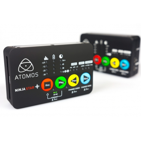 ATOMOS NINJA STAR - Pocket-size Apple ProRes recorder & deck