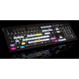 LOGICKEYBOARD - Blackmagic Design DaVinci Resolve 14 Astra Backlit MAC Keyboard UK