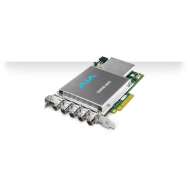 AJA 4K AND MULTI-CHANNEL HD HEVC ENCODER SLOT POWERED