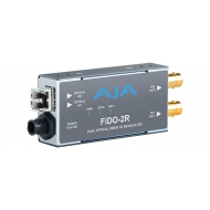AJA DUAL CHANNEL OPTICAL FIBER MULTI MODE TO SD/HD/3G SDI WITH DUAL OUTPUTS