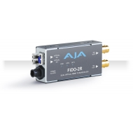 AJA DUAL CHANNEL LC FIBER TO SDI, NO SFP INCLUDED, SEE FIBER OPTIONS