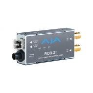 AJA DUAL CHANNEL SD/HD/3G SDI TO OPTICAL FIBER MULTI MODE WITH LOOPING SDI OUTPUT