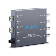 AJA QUAD CHANNEL LC FIBER TO SDI, NO SFP INCLUDED, SEE FIBER OPTIONS