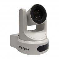 PTZOptics 20X-USB White - 20X Optical Zoom - USB 3.0, IP Network RJ45, HDMI, CVBS - 1920 x 1080p - 60.7 degree field of view